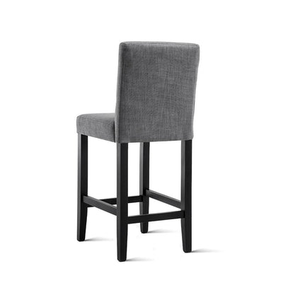Artiss Set of 2 French Provincial Dining Chairs - Grey | 360HomeWare