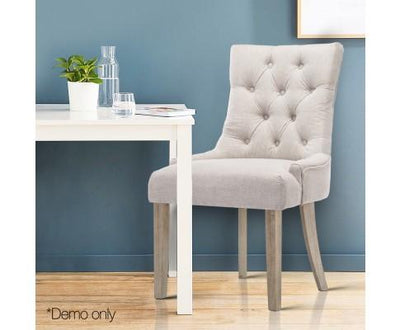 French Provincial Dining Chair Beige | 360HomeWare