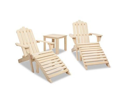 5 Piece Wooden Outdoor Chair and Table Set | 360HomeWare