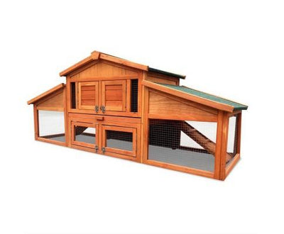 2 Storey Wooden Hutch | 360HomeWare