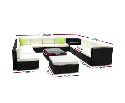 13 Piece Outdoor Furniture Set | 360HomeWare
