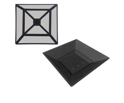 Outdoor Fire Pit BBQ Table Grill Fireplace Stone Pattern | 360HomeWare