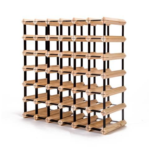 42 Bottle Pine Wood Timber Wine Rack | 360HomeWare
