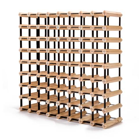72 Bottle Timber Wine Rack | 360HomeWare