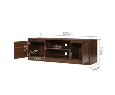 Walnut Entertainment Unit | 360HomeWare