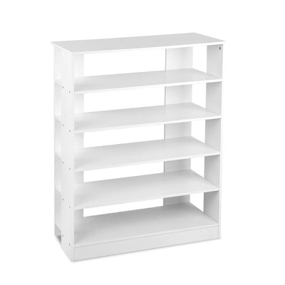 Artiss 6-Tier Shoe Rack Cabinet - White | 360HomeWare