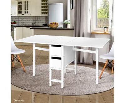 Artiss Gateleg Dining Table | 360HomeWare