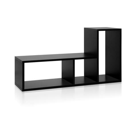 DIY L Shaped Display Shelf - Black | 360HomeWare