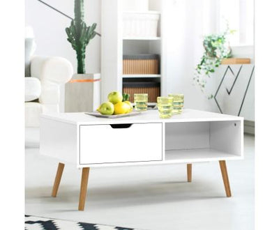 Scandinavian Coffee Table - White | 360HomeWare
