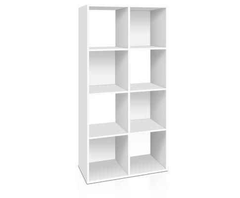 8 Cube Display Storage Shelf - White | 360HomeWare