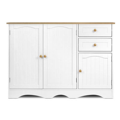 Artiss Buffest Sideboard Hallway Entrance Table - White | 360HomeWare