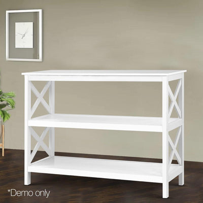 Artiss Wooden Storage Console Table - White | 360HomeWare