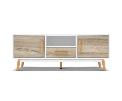 Nordic Wooden Entertainment Unit | 360HomeWare