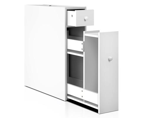 Sleek Storage Cabinet White | 360HomeWare