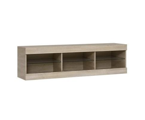 RGB LED Oak Entertainment Unit | 360HomeWare