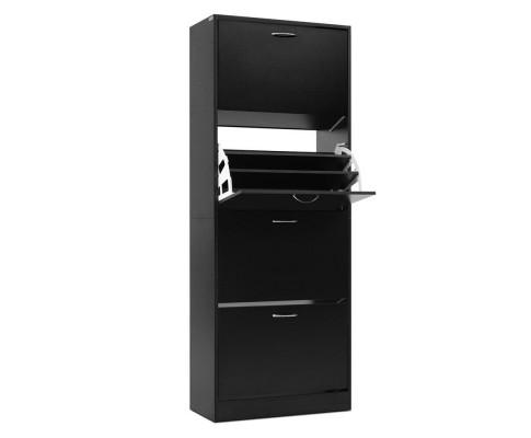 Shoe Cabinet for 60 pairs - black | 360HomeWare