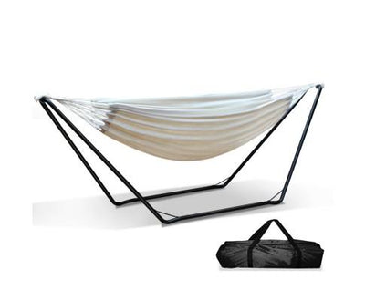 Hammock Bed with Steel Frame Stand | 360HomeWare