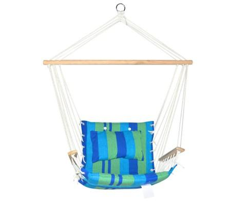 Gardeon Hammock Swing Chair - Blue & Green | 360HomeWare