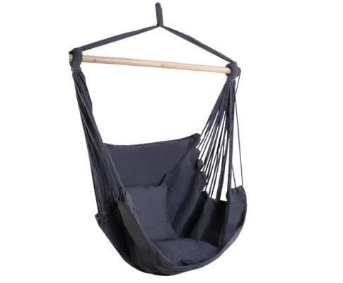 Gardeon Hammock Chair - Grey | 360HomeWare
