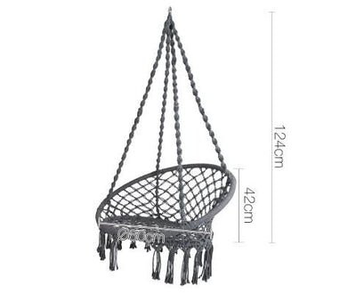 Gardeon Hammock Swing Chair - Grey | 360HomeWare