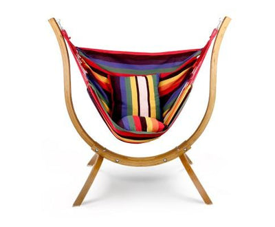 Gardeon Hammock with Wooden Hammock Stand | 360HomeWare