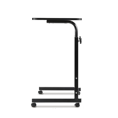Portable Adjustable Wooden Latpop Stand - Black | 360HomeWare