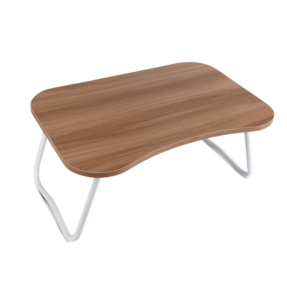 Portable Bed Tray Table - Light Wood | 360HomeWare