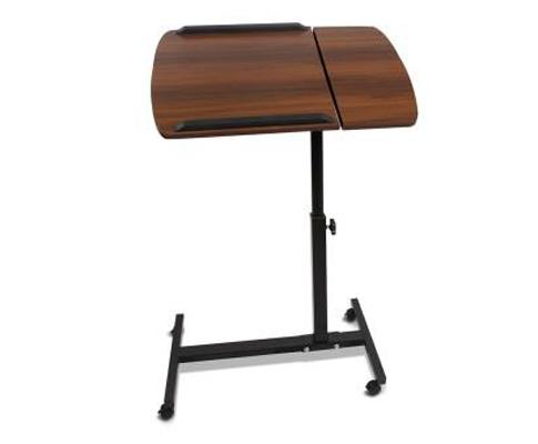 Adjustable Computer Stand - Walnut | 360HomeWare