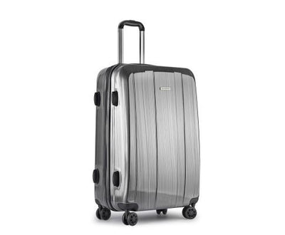 Lightweight Hard Suit Case Luggage Grey | 360HomeWare
