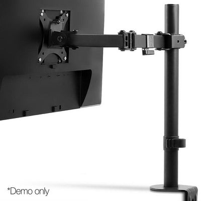 Single LED Monitor Arm Stand Display Bracket Holder LCD Screen Display TV | 360HomeWare