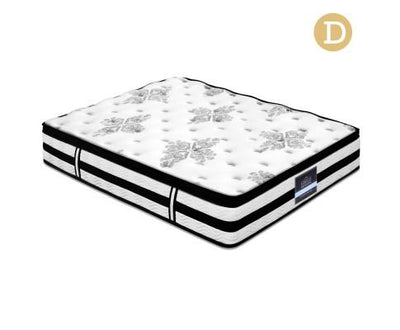 Belgium Extra Thick Mattress Double Size 34cm | 360HomeWare