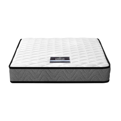 Giselle Bedding Single Size 13cm Thick Foam Mattress with Black Outline (Firmness: 6.0) | 360HomeWare