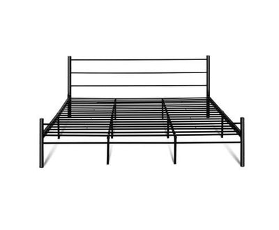 Tre Metal Bed Frame - Black | 360HomeWare