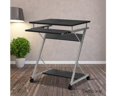 Computer Desk with Shelf (Black) | 360HomeWare