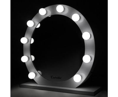 LED Makeup Mirror Frame - White 68cm by 68cm | 360HomeWare