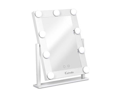 LED Standing Makeup Mirror - White | 360HomeWare