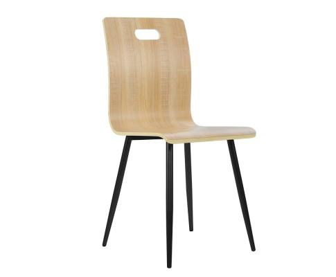 4x Dining Chairs Bentwood Seater Metal Legs | 360HomeWare