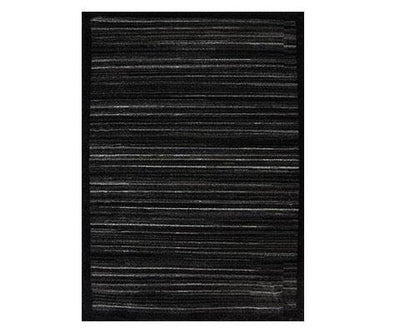 Melbourne Black Grey Zebra Rug | 360HomeWare