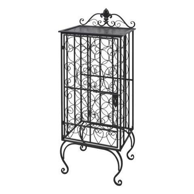 Metal Wine Cabinet Rack | 360HomeWare