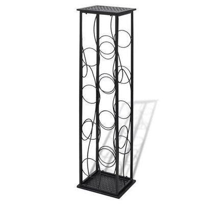 Metal Wine Rack Wine Stand for 8 Bottles | 360HomeWare