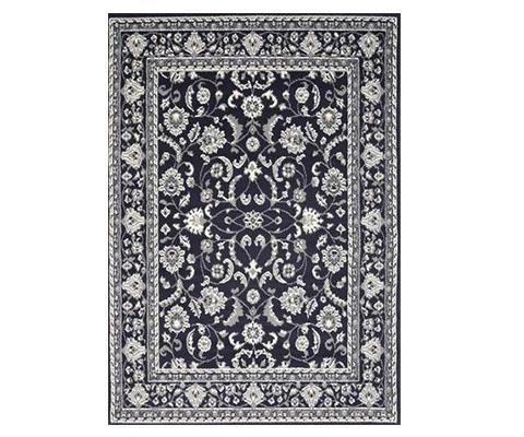 Morgan Rug Traditional Navy Design | 360HomeWare
