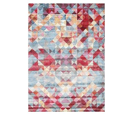 Multi Geometric Rug | 360HomeWare