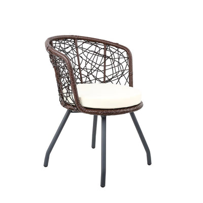 Outdoor Patio Chair and Table - Brown | 360HomeWare