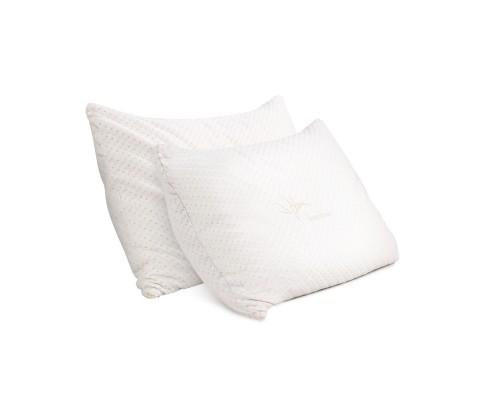 Giselle Bedding Set of 2 King Bamboo Memory Foam Pillow | 360HomeWare