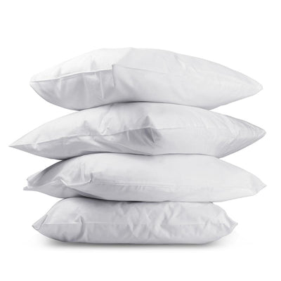 Giselle Bedding Set of 4 Medium & Firm Cotton Pillows | 360HomeWare
