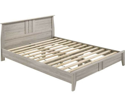 White Oak Finish Bed Frame | 360HomeWare