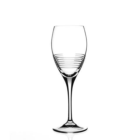 Italian Crystal Breakline White Wine Glass (Set of 6) | 360HomeWare