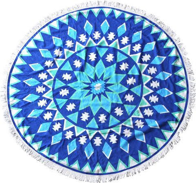Round Printed Beach Towel 150CM | 360HomeWare