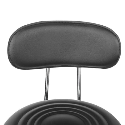 Artiss PU Leather Swivel Chair with Backrest - Black | 360HomeWare