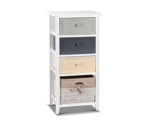 Artiss Bedroom Storage Cabinet - White | 360HomeWare